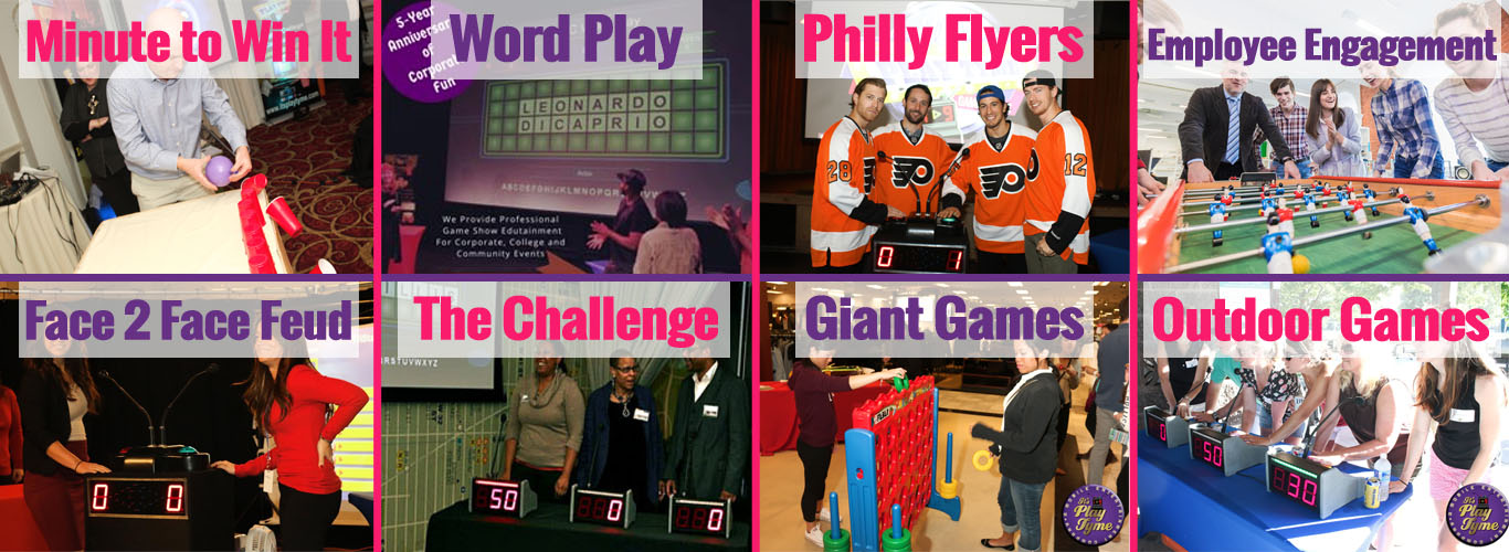 Interactive Team Building Game Shows