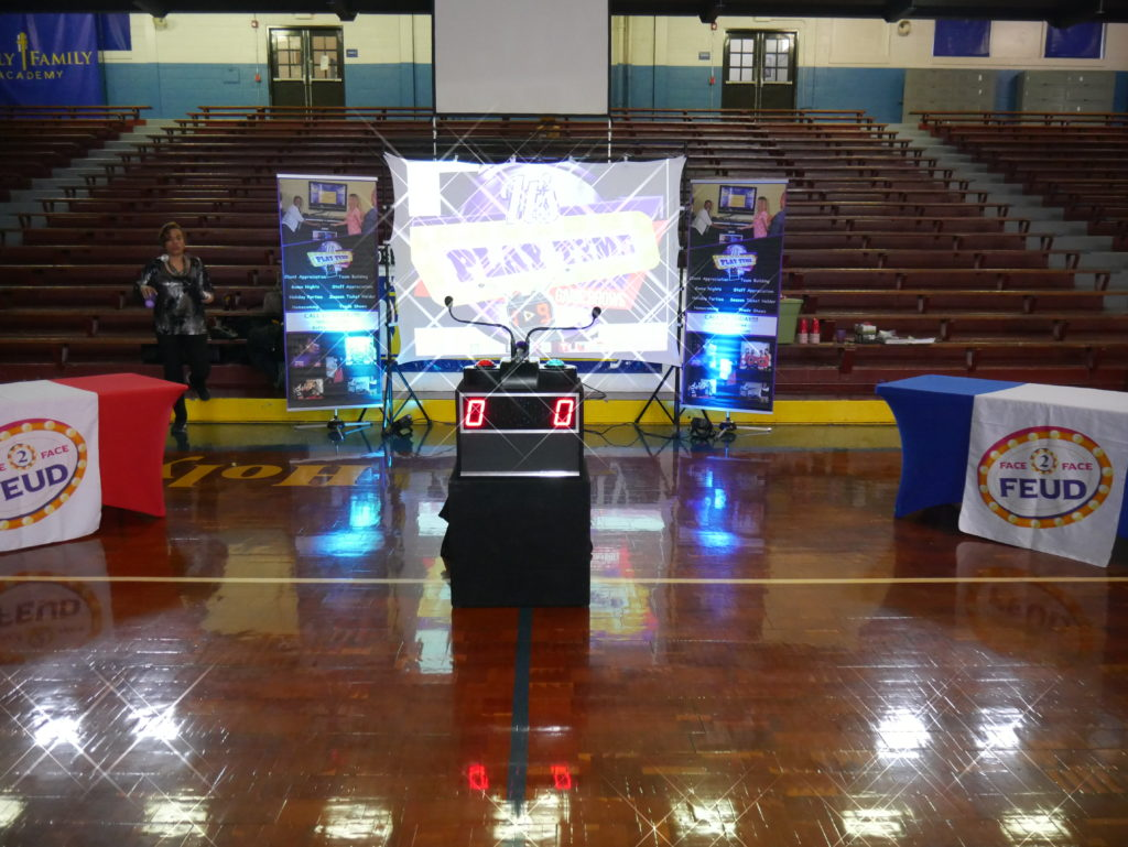 School Assembly Set Up